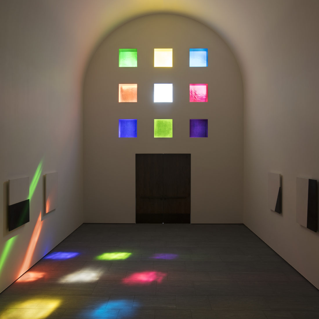 The South-facing view of Ellsworth Kelly's Austin